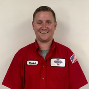 Derrick Smith, Service Technician for Reimer Home Services.