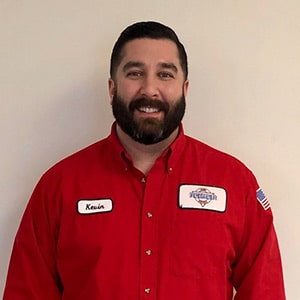 Kevin Williams, the Service / Sales Manager for Reimer Home Services.