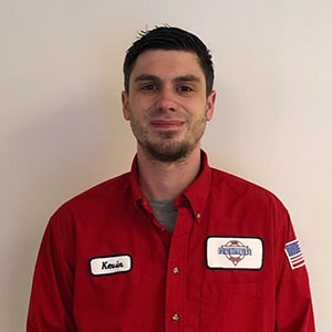 Kevin Yeates, Installer for Reimer Home Services.