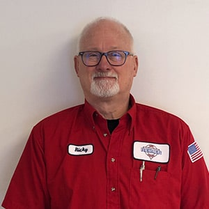 Ricky Reimer, the Installation Manager for Reimer Home Services