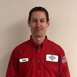 Todd Taton, Journeyman Plumber for Reimer Home Services.